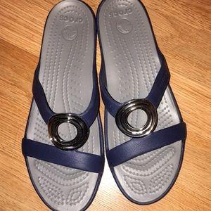 Crocs Sanrah Metal Block Woman Sandal